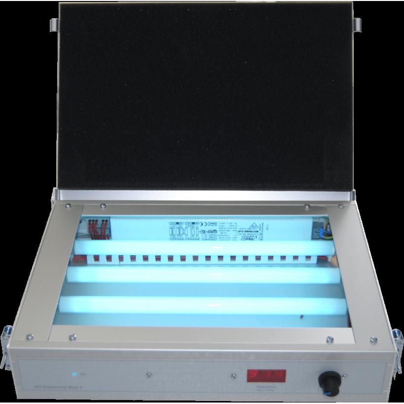 Exposure unit for pad printing plate making   Keygadgets