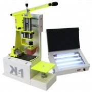 Machine de tampographie + Insoleuse UV + Kit encre